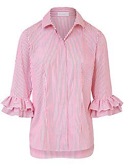 (THE MERCER) N.Y. - Blouse with 3/4-length sleeves