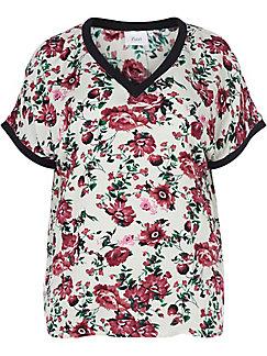 zizzi - Bluse mit V-Ausschnitt