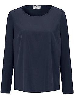 Peter Hahn - Blusen-Shirt mit Rundhals-Ausschnitt
