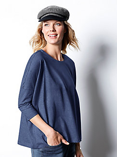 c29699d941e LIKE - Round neck top with 3 4-length sleeves