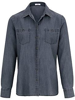 Peter Hahn - Denim shirt with long sleeves