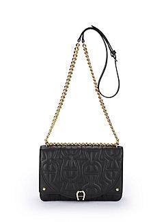 Bag in 100% leather Diadora XS Aigner beige Aigner tiz8R0B