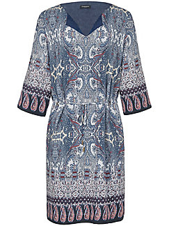 Schneiders Salzburg - Dress with 3/4-length roll-up sleeves