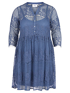 zizzi - Dress with 3/4-length sleeves