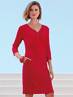 123c7f7d0adab Gerry Weber - V-neck dress with 3/4-length sleeves
