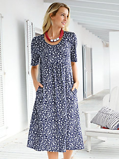 Jersey dress 3/4-length sleeves Green Cotton black Peter Hahn Discount Outlet Store Sale Online Quality Original Huge Surprise Sale Online Authentic Sale Online hfAaOzf0Vg