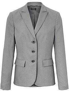 Basler - Jersey-Blazer mit 1/1 Arm und leichter Struktur