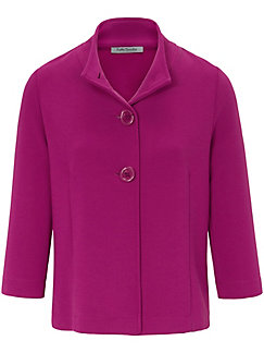 Betty Barclay - Jersey jacket with vented 3/4-length sleeves