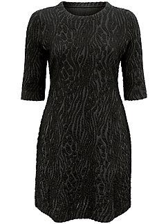 Emilia Lay - Jerseyklänning med 3/4-ärm