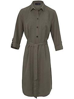 Looxent - Kleid mit durchgehender Knopfleiste