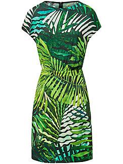 Marc Aurel - Kleid mit Palmblatt-Print