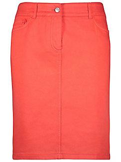 Gerry Weber - La jupe en jean, coupe 5 poches