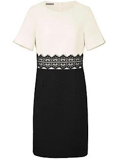 Uta Raasch - La robe cintrée avec dentelle, manches courtes