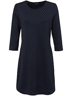 Looxent - La robe en jersey, ligne droite, manches 3/4