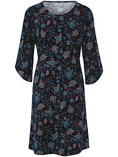 Green Cotton - La robe imprimée en jersey de pur coton