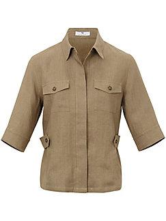 Peter Hahn - La veste-chemisier en pur lin