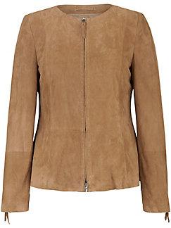 Anna Aura - La veste en cuir velours