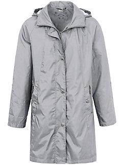 Peter Hahn - La veste longue en microfibre à capuche