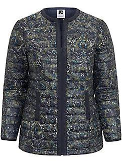 Anna Aura - La veste matelassée à imprimé cachemire