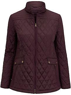 Anna Aura - La veste matelassée surpiquée, col montant