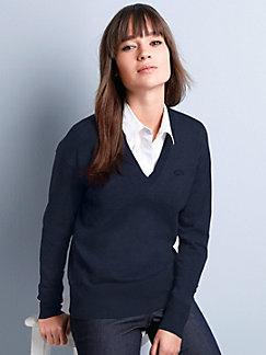 57ba1659e801 Lacoste - Le pull 100% coton