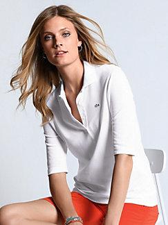 4f3eb7705d0 Lacoste Dam T-shirts med krage / Piké | peterhahn.se