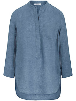Peter Hahn - Lange blouse met 3/4-mouwen van 100% linnen