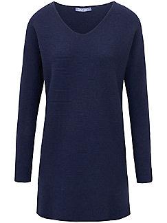 DAY.LIKE - Lange trui van 100% scheerwol met 3/4-mouwen