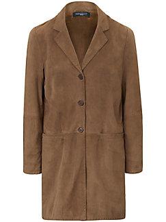 Fadenmeister Berlin - Le manteau 3/4 en cuir