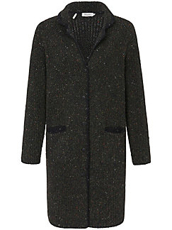 b77329c032bda MAERZ Muenchen - Le manteau en maille - olive multicolore