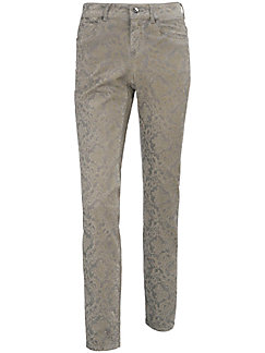 Peter Hahn - Le pantalon 7/8 floqué, coupe Barbara