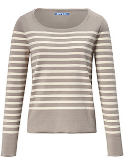 DAY.LIKE - Le pull rayé en pur coton SUPIMA®