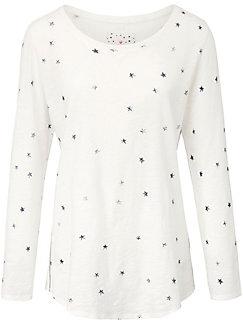 LIEBLINGSSTÜCK - Le T-shirt en pur coton, encolure dégagée