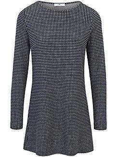 Peter Hahn - Le T-shirt jacquard en jersey, encolure arrondie