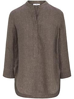 Peter Hahn - Long-Bluse aus 100% Leinen mit 3/4-Arm