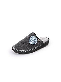 Pantoffel BOnova grau sh9MSuyt