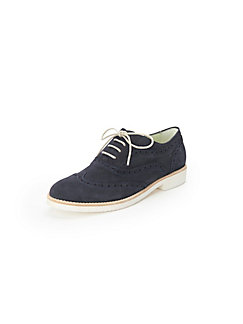 Clearance Choice Lace-up shoes in 100% leather Peter Hahn exquisit blue Peter Hahn Clearance Manchester Great Sale Nice 9ihQsAHM