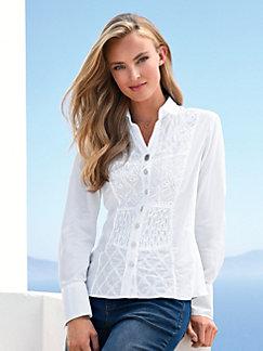 56add07834bff9 Elegante Blusen bestellen im Peter Hahn Shop