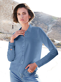 559b97401fa373 Grote Maten Dames Jerseyblouses