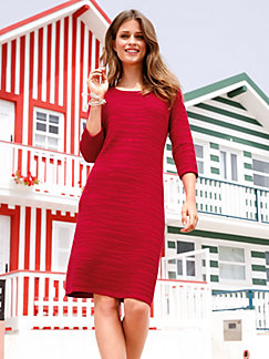 Knitted dress 3/4-length sleeves Peter Hahn white Peter Hahn Cheap Discount Authentic Cheap Sale Fashionable RkevQ