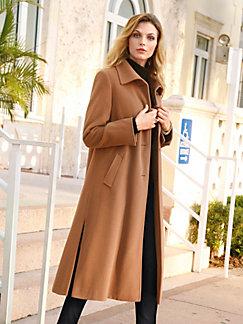 Mantel jas camel