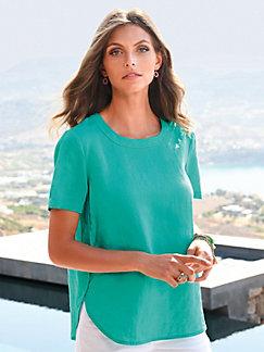 315d7ab575 Peter Hahn - Pull-on blouse in 100% linen