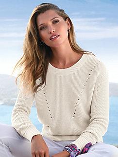 Grosse Grössen Damen Pullover   peterhahn.de be8120655b