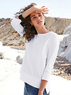 eade9f9071aefb Peter Hahn - Rundhals-Shirt aus 100% PIMA-Baumwolle