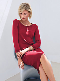 Strickkleid damen rot