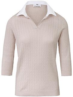 Peter Hahn - Polo-Pullover aus 100% SUPIMA®-Baumwolle