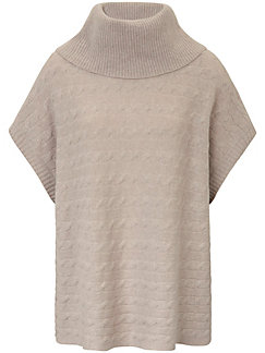 include - Poncho-Pullover aus 100% Kaschmir