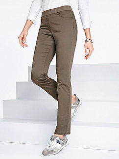 Clearance Choice ProForm Slim pull-on trousers design Pamina Raphaela by Brax white Brax With Mastercard Online Discount Pay With Paypal E1Y8Xion3