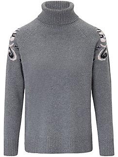Laura Biagiotti Donna - Roll-neck jumper in 100% cashmere