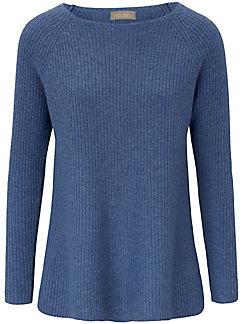 include - Round neck jumper in 100% cashmere